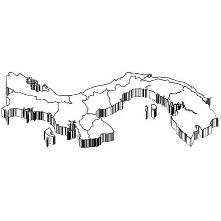 panama: Panama Map