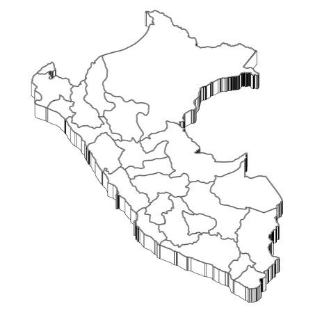 ペルー ペルー地図