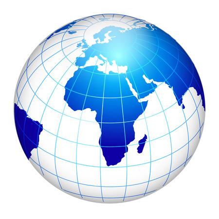 지구 글로브의 세계