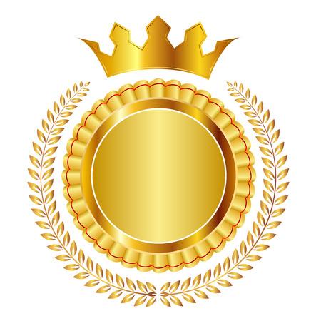Laurel medaglia corona