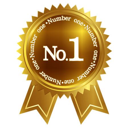 number 1: Medal frame 1