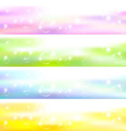 bubble background: Sky bolla di sapone sfondo Vettoriali