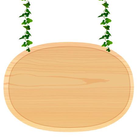 프레임 나무 접시