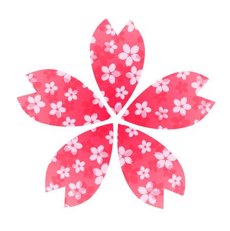 pink flower: cherry pink flower