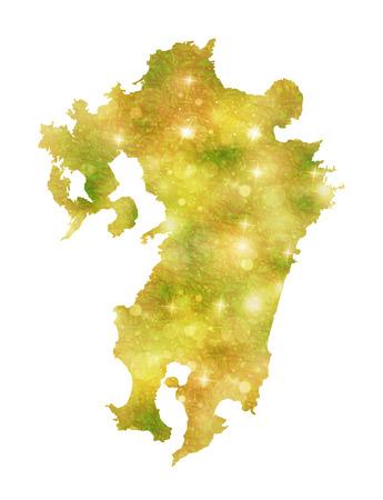 kyushu: Kyushu Japan map