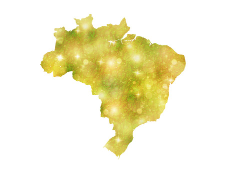 Country map Brazil Vector