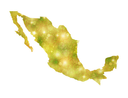 map of mexico: