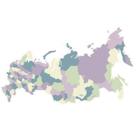 russland karte: Russland Karte Land