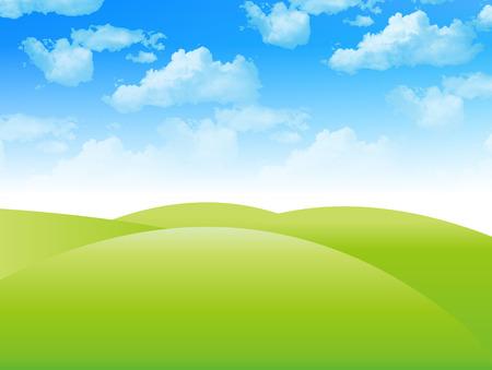 plateau: Sky landscape background