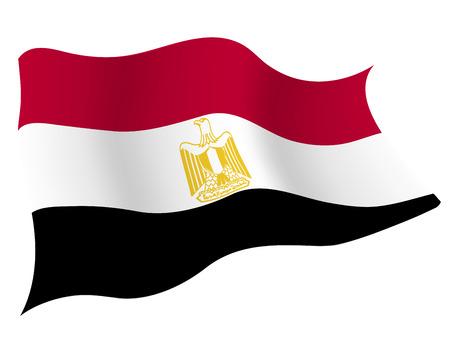 이집트 € € 국가 국기 일러스트