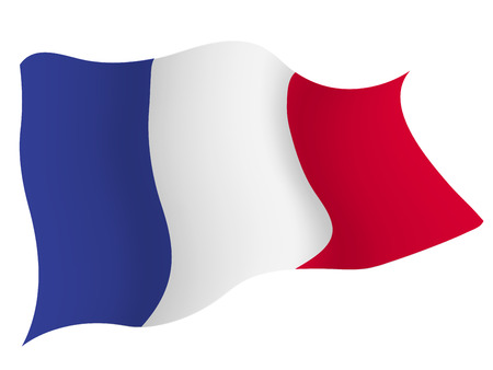 프랑스 € € 국가 국기 일러스트
