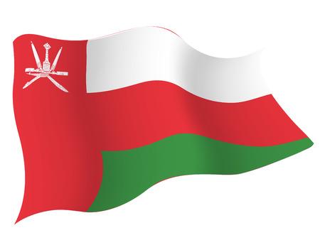 Omanã € € 국가 국기