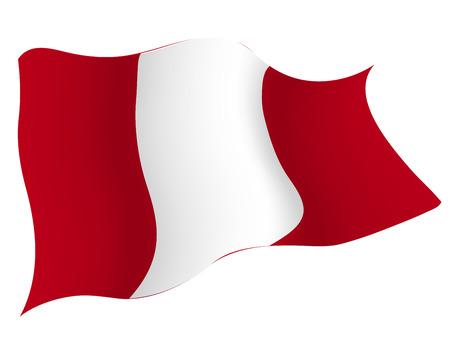 페루 € 국가 국기 일러스트