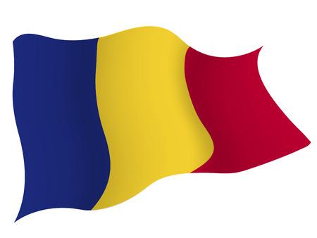 Romania〠€ 国旗