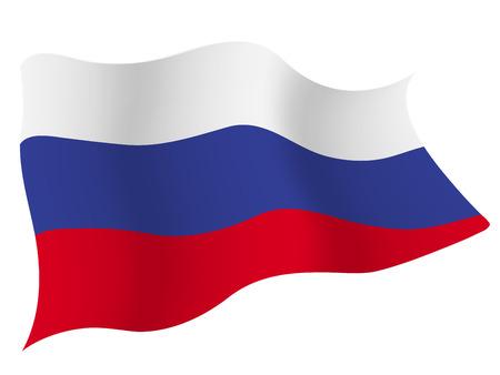 러시아 € € 국가 국기