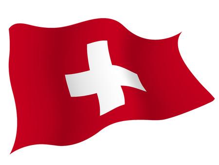 스위스 국기 € 일러스트