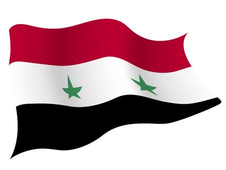 시리아 € € 국가 국기