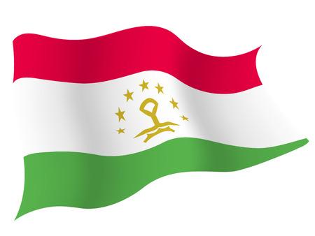타지키스탄 국기 €