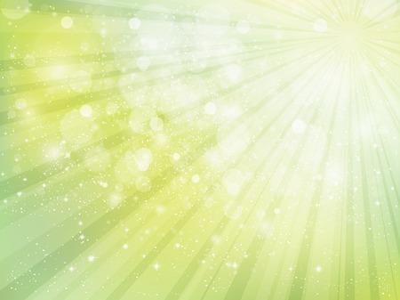 Fresh green sky light Illustration