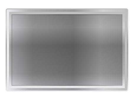 Metal frame amount