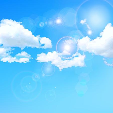 Sky blue sky landschap