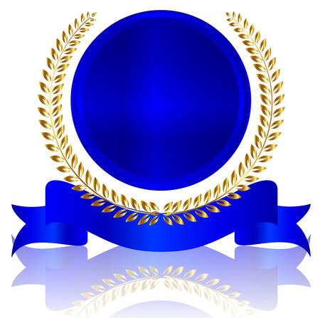 メダル フレーム ローレル