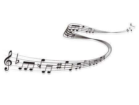 Opmerking muziekscore