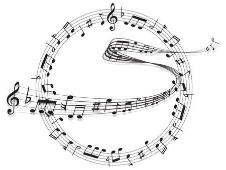 Hinweis Filmmusik Standard-Bild - 28057177