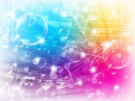 Music note de musique Banque d'images - 28108766