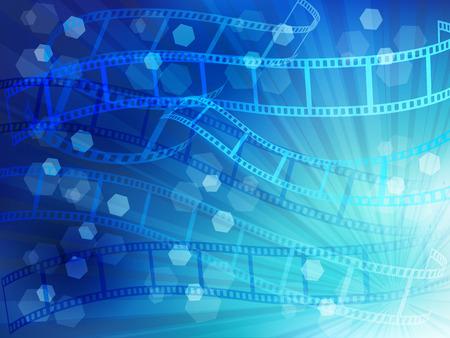negatives:  Film negatives landscape