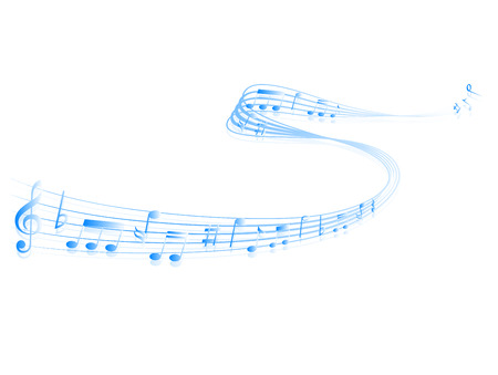 meandering: Music note music