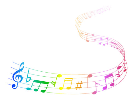 Note de musique musique Banque d'images - 28254998