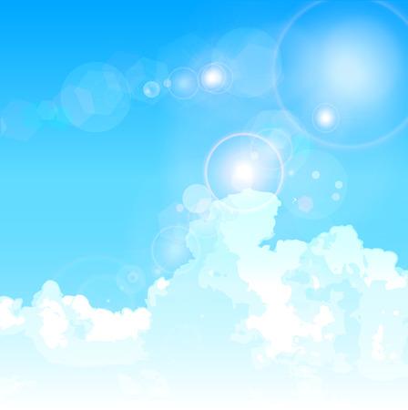 空雲風景します。