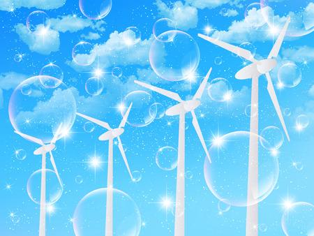 energia eolica: Energ�a e�lica Cielo