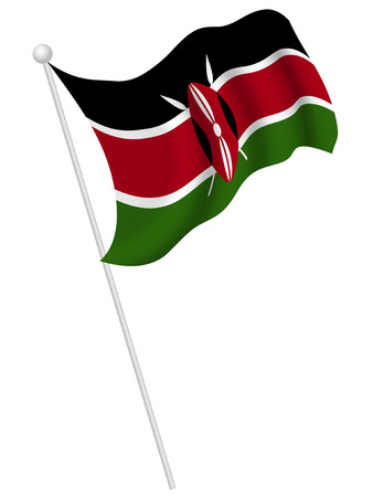 kenya: National flag national flag