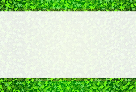 leaf background:  Maple leaf background Illustration