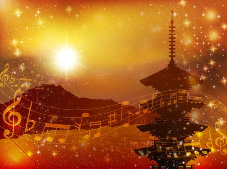 kyoto: Kyoto in note musicali di sfondo