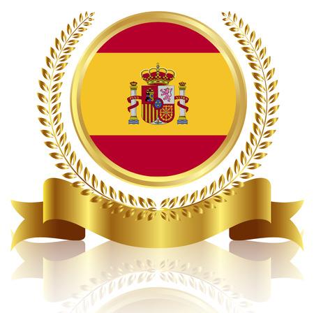 bandiera spagnola: Telaio bandiera spagnola