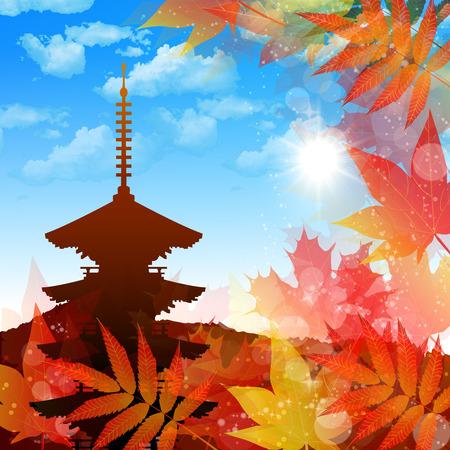 Maple Kyoto background