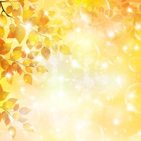 Maple herfstbladeren achtergrond