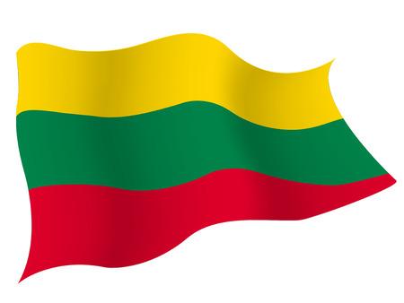 lithuania flag:  Lithuania flag country