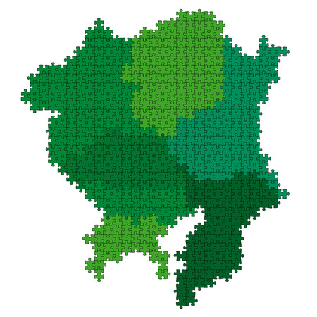 Japan, prefectures map