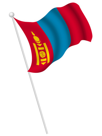 몽골 국기 국가