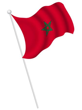 모로코 국기 국가