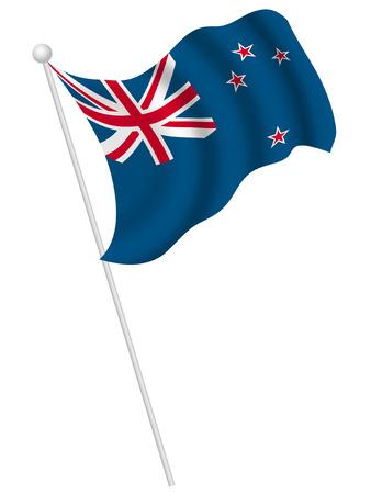 new zealand flag: Nuova Zelanda bandiera del paese