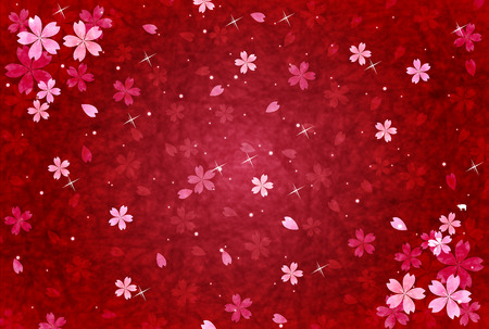 Cherry greeting cards background