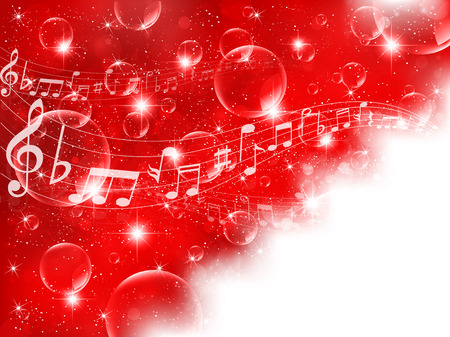 Note background musical score Vector