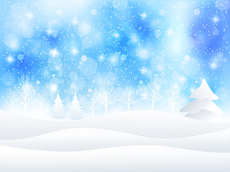the snow: Christmas snow background
