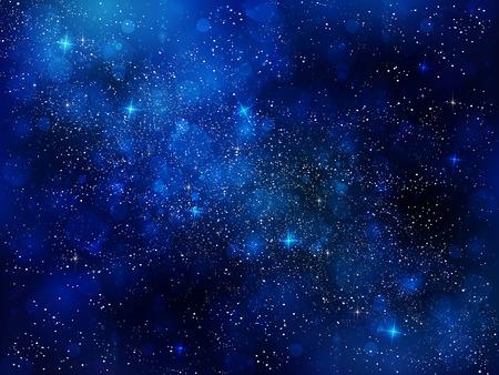 Nachtelijke hemel sterren achtergrond
