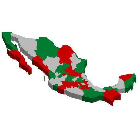 mexiko karte: